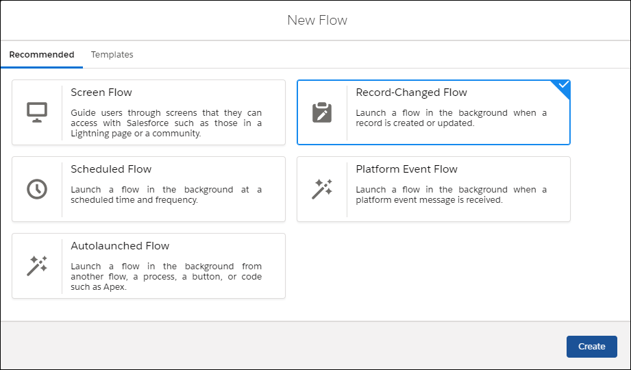 new improved salesforce flow builder
